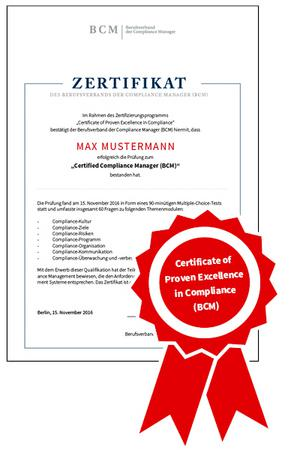 ISO 19600 Compliance Management Systems - CA Seminare